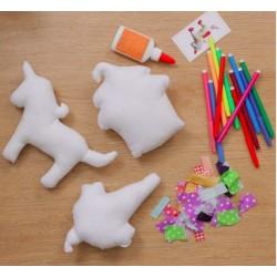 Decorate a Plush - Unicorn Party Set of 3