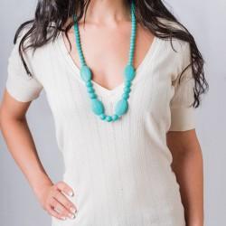 Nixi Teething Necklace / Ellise / Turquoise