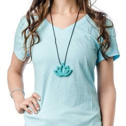 Nixi Teething Necklace / Lotus / Turquoise
