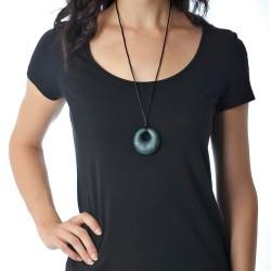 Nixi Teething Necklace / Gemma / Onyx