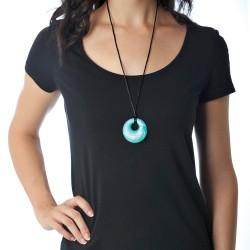 Nixi Teething Necklace / Gemma / Aquamarine