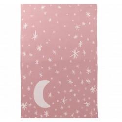 DwellStudio Graphic Knit Blanket - Blossom
