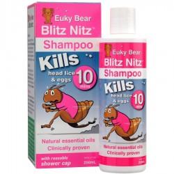 Euky Bear Blitz Nitz Lice Shampoo (250ml)