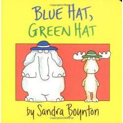 Blue Hat, Green Hat (Boynton on Board) - Board Book